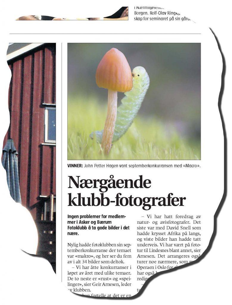 Fra Asker og Bærums budstikke, onsdag 21. september