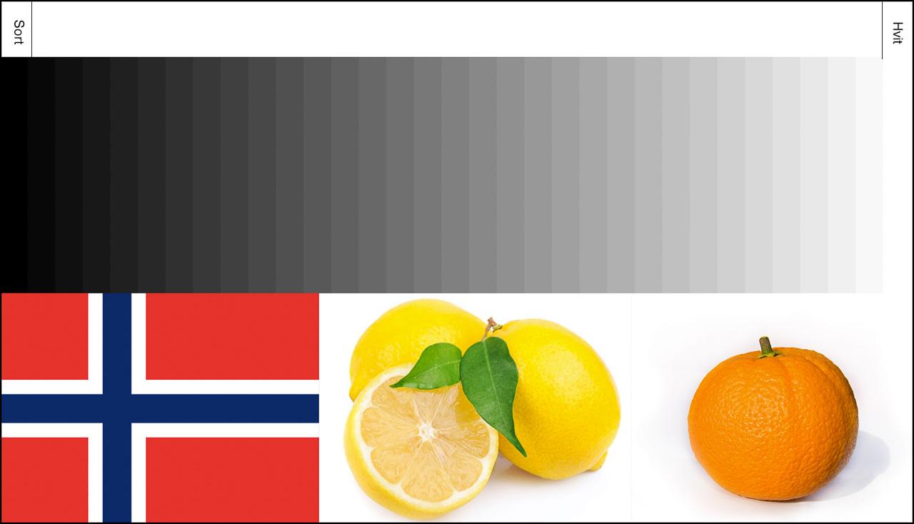 Gråtoneskala og fargereferanse